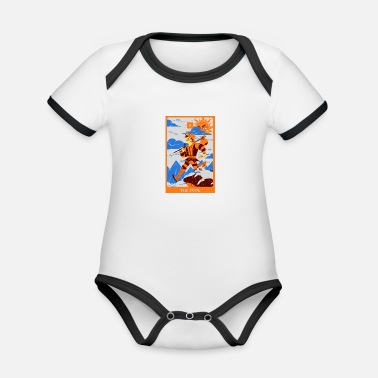 Salam The fool - Organic Contrast Baby Bodysuit