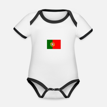 Image images - Organic Baby Contrasting Bodysuit