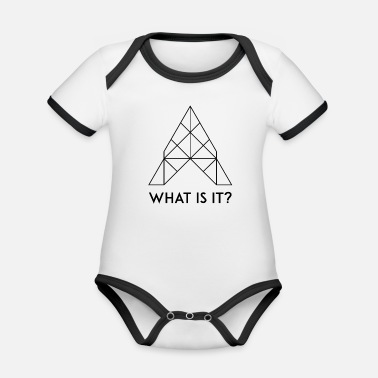 What What is it? / What is it? - Organic Contrast Baby Bodysuit