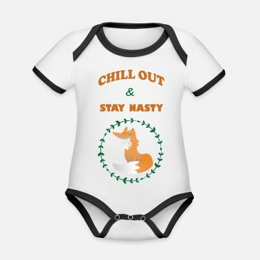 Chill Out Chill out - Body Bébé bio contrasté