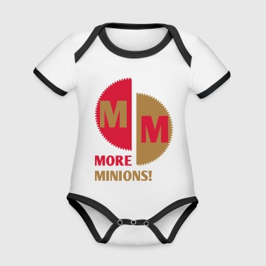More Minions! Zanhrad Abstract gift colorful - Organic Baby Contrasting Bodysuit