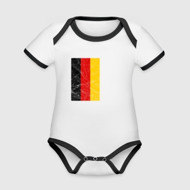 Germany Football - GER 2018 - Organic Baby Contrasting Bodysuit