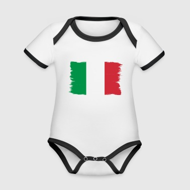 Pride flag flag home origin Italy png - Organic Baby Contrasting Bodysuit