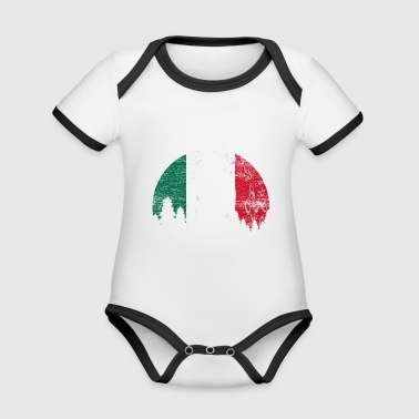 Mexico - Organic Baby Contrasting Bodysuit