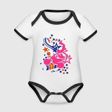motocross freestyle motorcycle40 tag eto - Organic Baby Contrasting Bodysuit