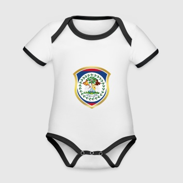 World Champion Champion 2018 wm team Belize png - Organic Baby Contrasting Bodysuit