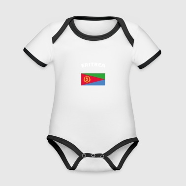 I love home home love roots ERITREA - Organic Baby Contrasting Bodysuit