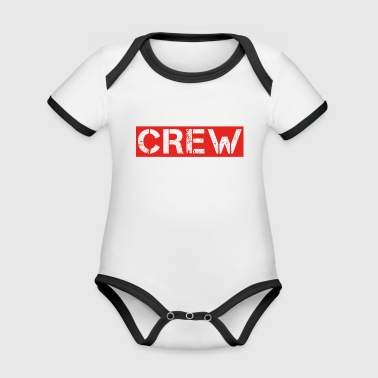 crew party mallorca malle drinking jga bride member - Organic Baby Contrasting Bodysuit