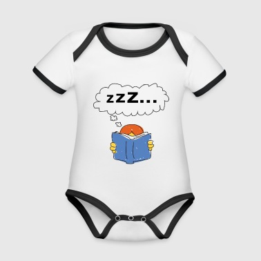 Lazy - Organic Baby Contrasting Bodysuit