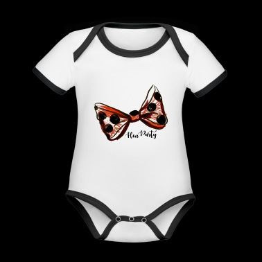 Hen Party. Bachelorette Party. Getting married. - Organic Baby Contrasting Bodysuit