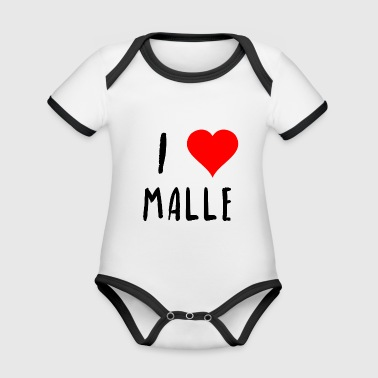 I love Malle holiday young left gift idea - Organic Baby Contrasting Bodysuit
