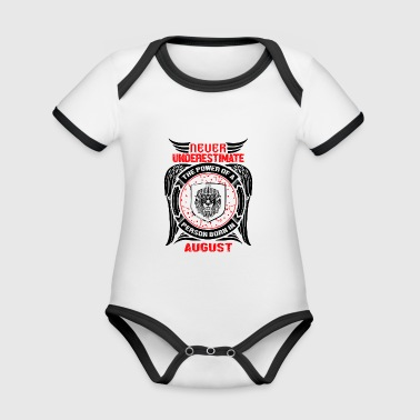Never underestimate the power of a Leo! - Organic Baby Contrasting Bodysuit