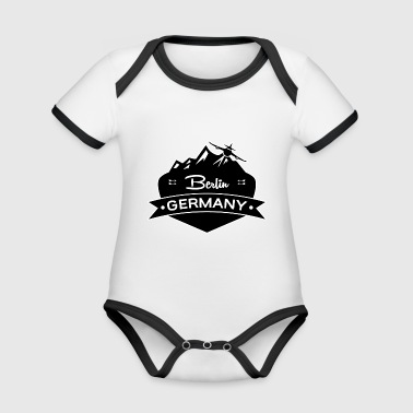 Berlin, Germany - Organic Baby Contrasting Bodysuit