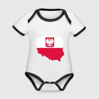 Poland - Organic Baby Contrasting Bodysuit