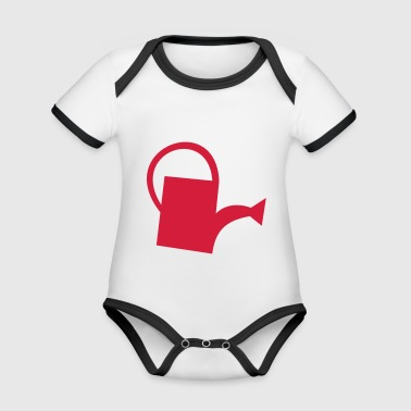 watering Can - Organic Baby Contrasting Bodysuit