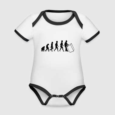 parcel courier parcel forwarding agent forwarder1 - Organic Baby Contrasting Bodysuit