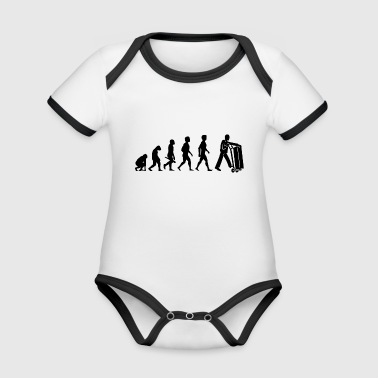 parcel courier parcel forwarding agent forwarder4 - Organic Baby Contrasting Bodysuit