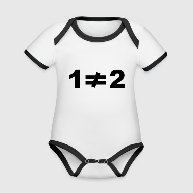 inequality - Organic Baby Contrasting Bodysuit