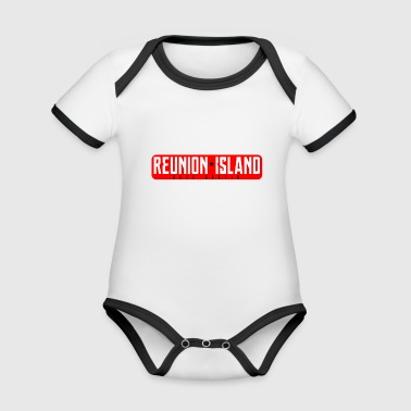 REUNION Collection * - Baby Bio-Kurzarm-Kontrastbody