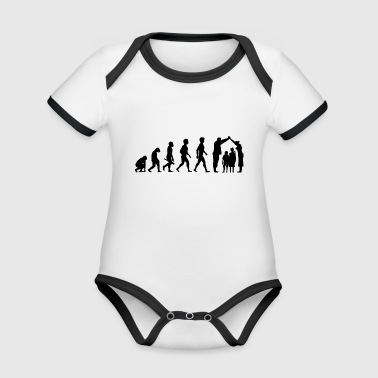 couple kiss love relationship engagement wedding5 - Organic Baby Contrasting Bodysuit