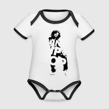 Dance HIPHOP - Organic Baby Contrasting Bodysuit