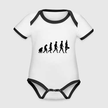 yoga pilates fitness cardio relaxation esoteric21 - Organic Baby Contrasting Bodysuit
