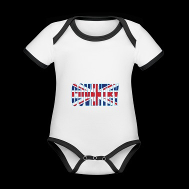 Coventry UK - Organic Baby Contrasting Bodysuit