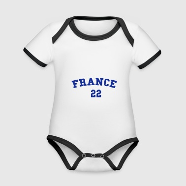 France 22 - Organic Baby Contrasting Bodysuit