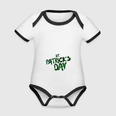 St. Patrick's Day - Organic Baby Contrasting Bodysuit