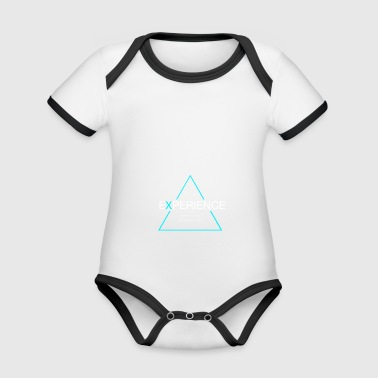 Experiences sports, travel adventure - Organic Baby Contrasting Bodysuit