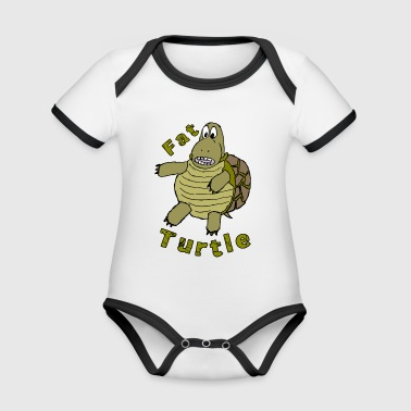FatTurtle - Organic Baby Contrasting Bodysuit
