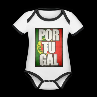Portugal - Organic Baby Contrasting Bodysuit