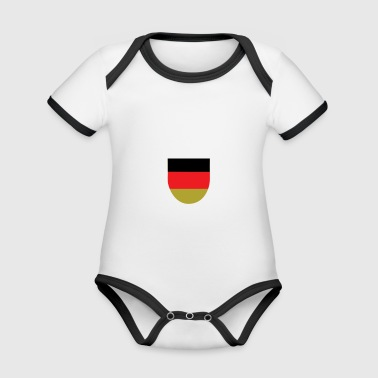 I may live in Germany, but my story begins in ... - Baby Bio-Kurzarm-Kontrastbody
