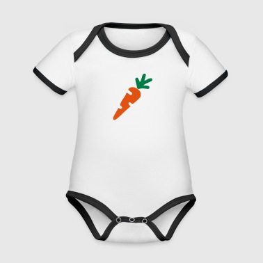 carrot - Organic Baby Contrasting Bodysuit