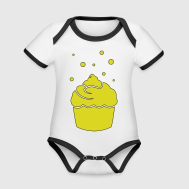 muffin - Organic Baby Contrasting Bodysuit
