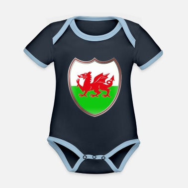 Coat Of Arms Wales (Coat of Arms) - Body neonato bicolor