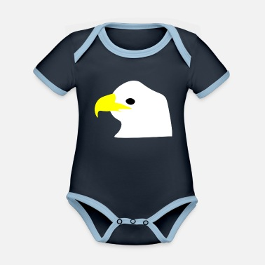 Eagle - Organic Contrast Baby Bodysuit