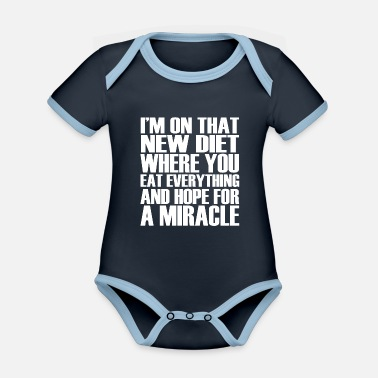 Sayings funny funny sayings - Organic Contrast Baby Bodysuit