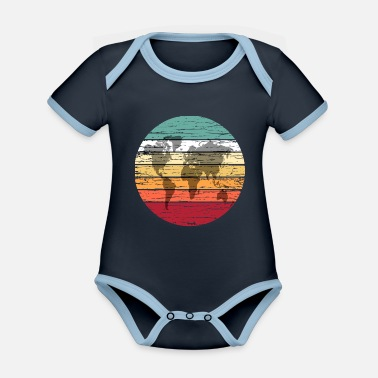 Protection Of The Environment World Environment Protection Climate Protection Eco - Organic Contrast Baby Bodysuit