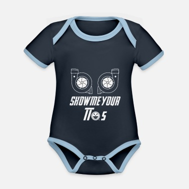 190617 Show me your TTs 2 - Organic Contrast Baby Bodysuit