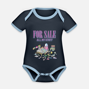 Bedroom Vaporwave Bedroom For Sale - Organic Contrast Baby Bodysuit