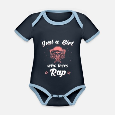 Rapper Hip Hop Rap Rapper Girls - Body neonato bicolor