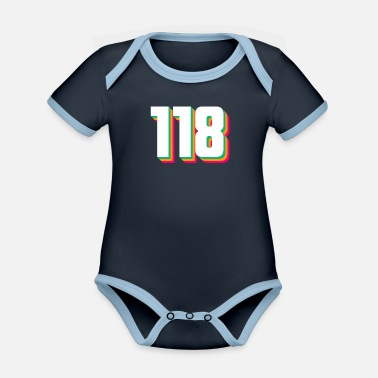 Old 118 - Organic Contrast Baby Bodysuit