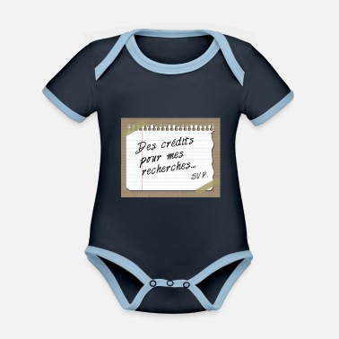 Search Credits Search ... - Organic Contrast Baby Bodysuit