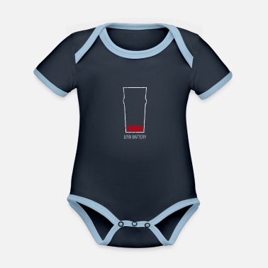 Alcohol alcohol - Organic Contrast Baby Bodysuit