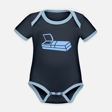 Funeral funeral - Organic Contrast Baby Bodysuit