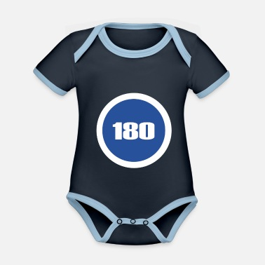 Minimum minimum speed - Organic Contrast Baby Bodysuit