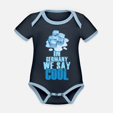 Moin In Germany we say Cool - Organic Contrast Baby Bodysuit