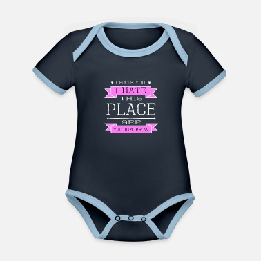 Steroids weight bday legs day extreme sports lift gym buddy - Organic Contrast Baby Bodysuit