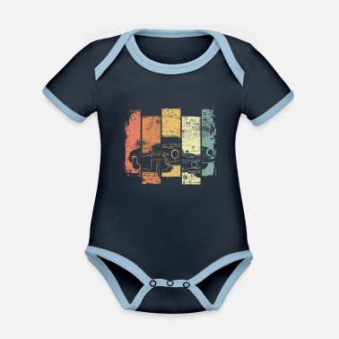 Convertible Oldtimer convertible - Organic Contrast Baby Bodysuit